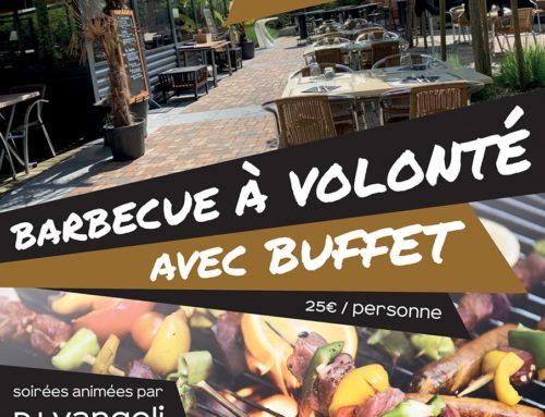 Barbecue à volonté avec buffet !
