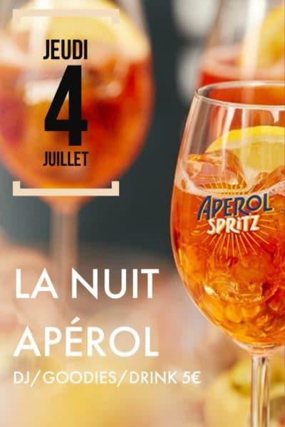 La Nuit Apérol - L'Unik