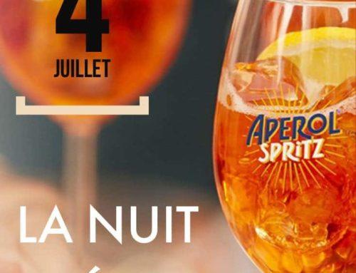 La Nuit Apérol – 4 Juillet 2019